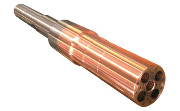 Elettrodo settore siderurgico saldatura rame e ferro poi tornito