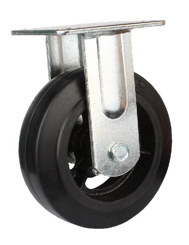 "swivel rubber caster 			1.size:3""-8""inch 			2.load capacity:80-300kg 			3.material:rubber 			4.color:black;brand:DB"