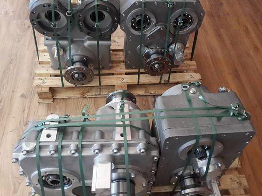 Gearbox for Putmeister and Schwıng