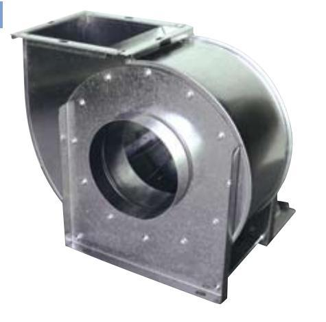 SINGLE INLET WITH SEMI-BACKWARD IMPELLER