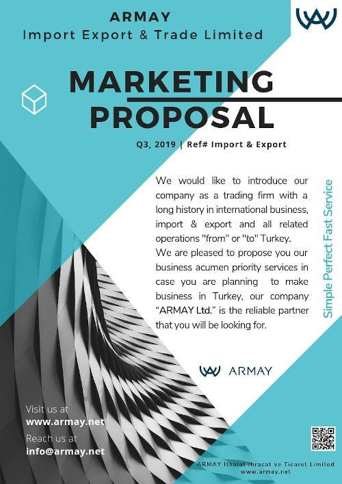 Armay Marketing Proposal