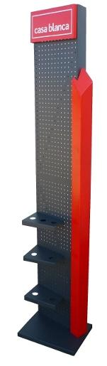 Shop furniture for advetising, promotions and product display in supermarket, skowrooms and events.