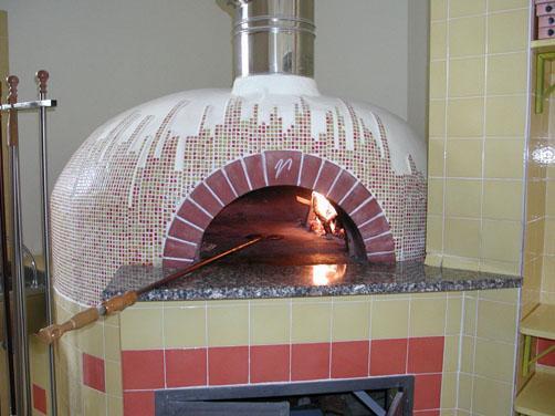 Pizzaofen aus Italien
