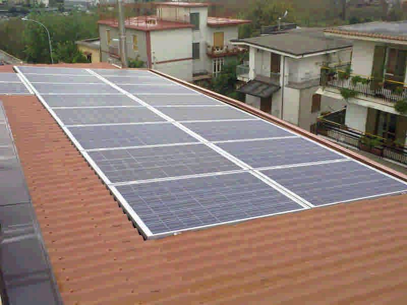 fotovoltaico totalmente integrato 4,60kWp