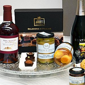 Idee regalo con prodotti alimentari italiani di qualità.