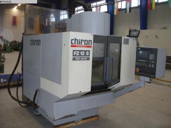 Type of machine Machining Center - Vertical Make CHIRON Type FZ 12 S High Speed Year of manufacture 1996 Type of control CNC