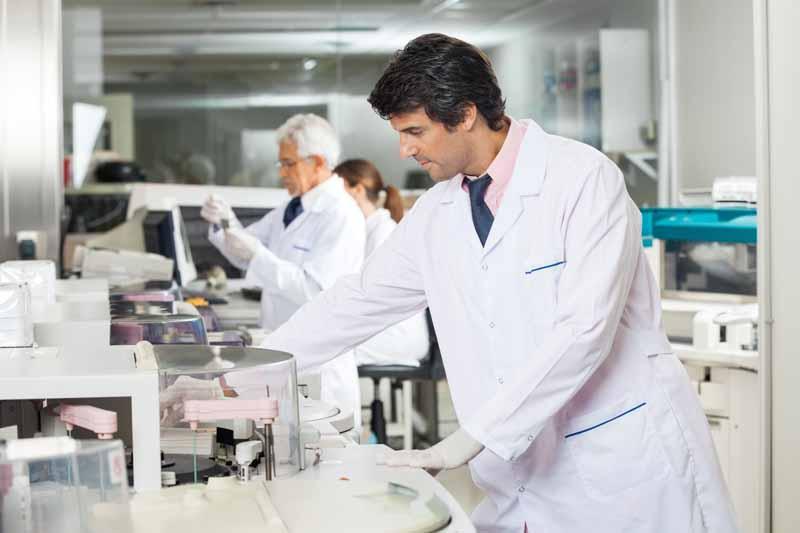 Unil Lubricants own efficient laboratory