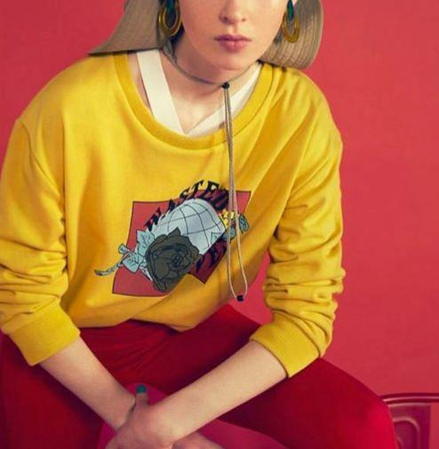 Swea tshirt with print