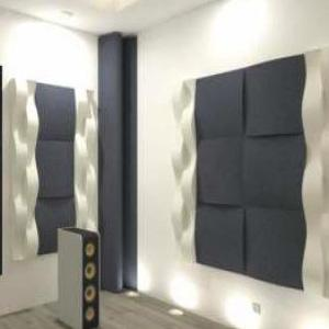 Acondicionamiento acustico de estudios de grabacion, salas de ensayo, locales de hosteleria, emisoras de radio, tv, etc.