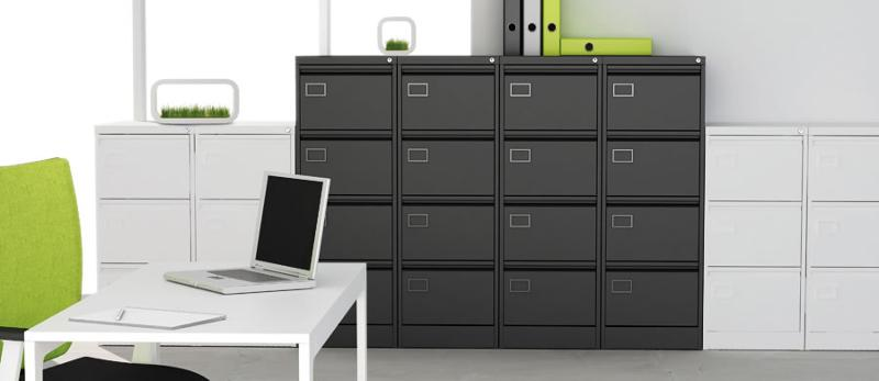 Executive Filing Cabinets are manufactured using sustainably sourced steel, that shows a significantly reduced carbon footprint.