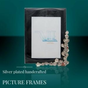 Handcrafted Silver Picture Frames