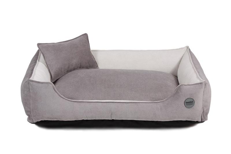 Tokka Grey Dog Bed