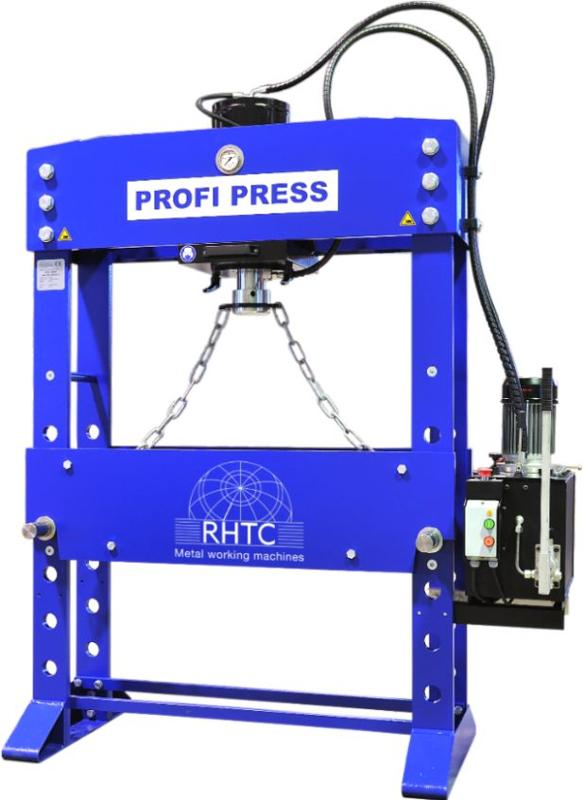 Motorized workshop press