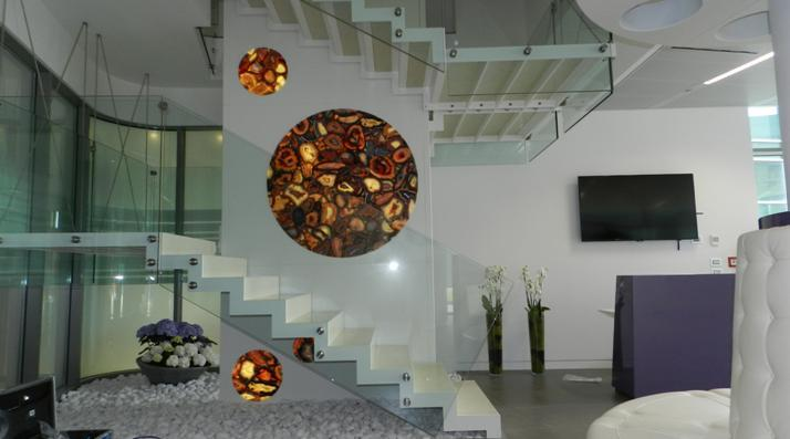 We produce special design led panel for retail industry and interior design decoration