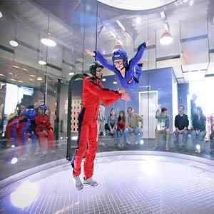 If you are 3 years old or more, you can make your dream reality and fly!  	No prior training is necessary to make your fist flight at ARKE Indoor Skydiving.