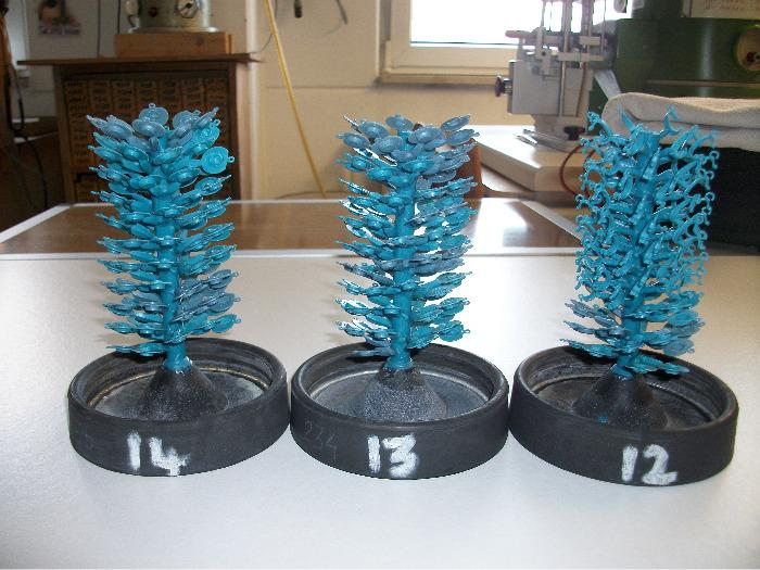 wax trees for silver casting