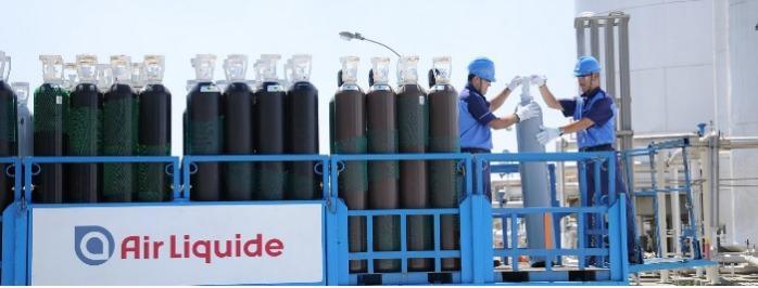 Gase und Gasgemische in Einzelflaschen