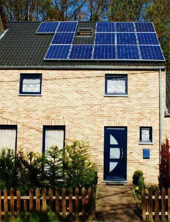 installation photovoltaïque classique