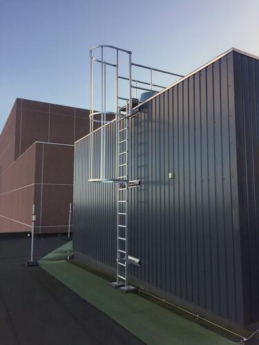 FORTAL Sicherheitssteigleiter Aluminium