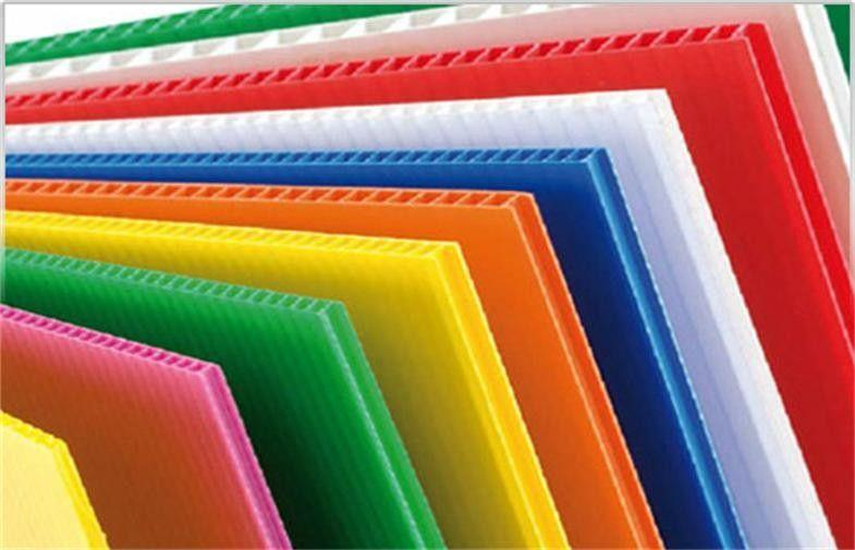 Hollow Polypropylene Sheet can be produced in 2.5 metre width between 2-10 mm thickness. Our company produces every kind of  Box, Layer Pad, Separator Between Pallets, Recycling Bins, Display Stand.