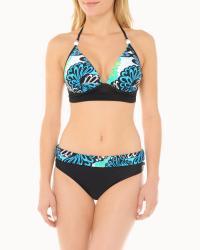 Floral Wave Mix-and-match Strapless Bikini