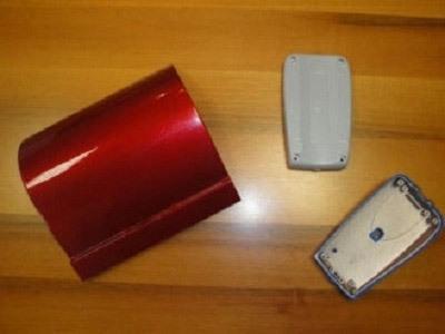 Verniciatura plastica, polipropilene e ABS