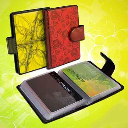 Re-closable card folders