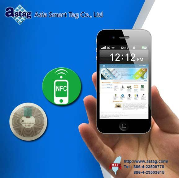 The Hot-Selling NFC tag, use with Smartphone.  				 Application: Identification, Time & Attendance, Physical Access, Secure PC- log on, Transit, Cashless Payment, Loyalty & Membership, and Ticketing.