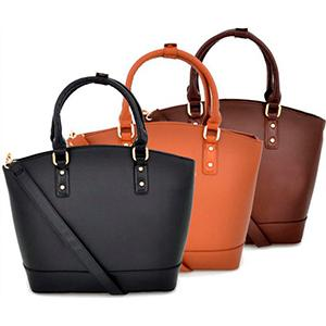Handbags in several sizes and colours from Sakelo Bags