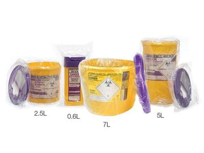Sterile Sharps Bins