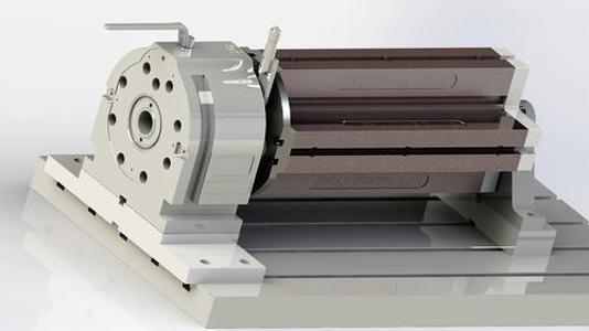 4 axis vertical machine