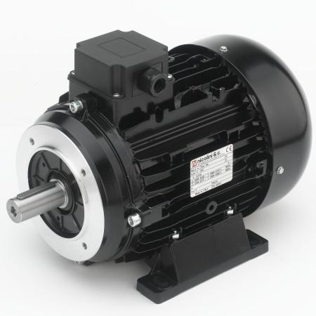 Solid shaft motor with flaqnge B14