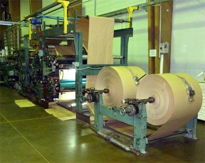 Square bottom bags machines - NEWLONG