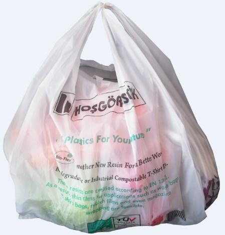 Biobased - Biodegradable - BioPlastic Bag