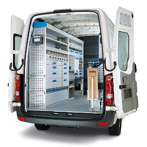 Facilities for utility vehicle electrician plumber carpenter craftsmen Bordeaux