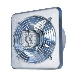Designed for ventilation where you need high air exchange. With its durable metal housing can be mounted in window frames, doors, ventilation ducts or directly into walls as exhaust fans or air supply