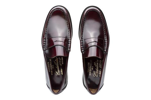 Hand-Sewn and Hand-Lasted Moccasin made in Spain by Castellano 1920 with an extra wide fitting.