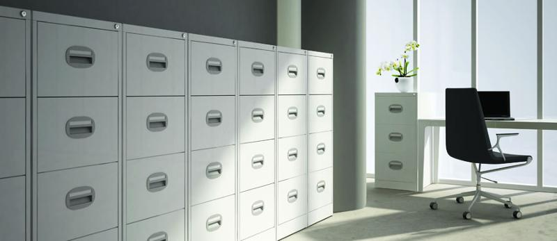 The improved Kontrax Filing Cabinet range is an ever popular entry level product, ideal for home, office or archival use.