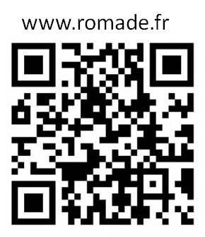 Visitez notre site www.romade.fr