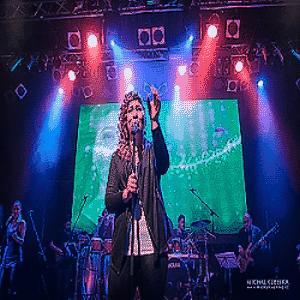 Erika Fecova Concert in the Lucerna Music Bar
