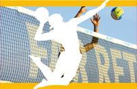 Reti da beach volley e reti da beach tennis, reti mini-volley. Reti lavorate senza nodo e stabilizzate ai raggi UV.