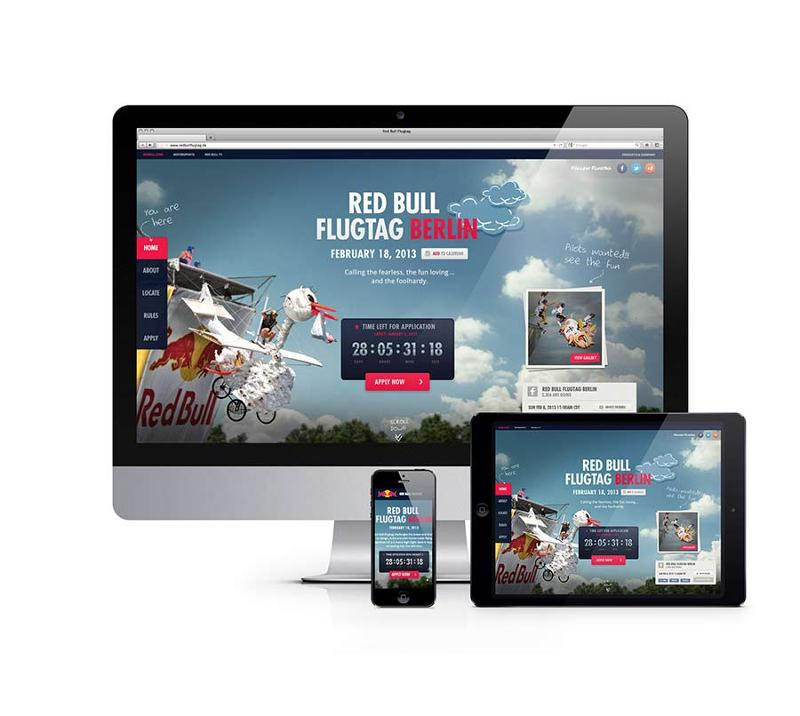 Websites for Red Bull's biggest events, Flugtag and Soapbox Race, held every year in many different countries. The sites are created almost on push of a button from a central, Drupal-based CMS.