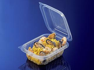 Caixa ideal para Comida Take Away.