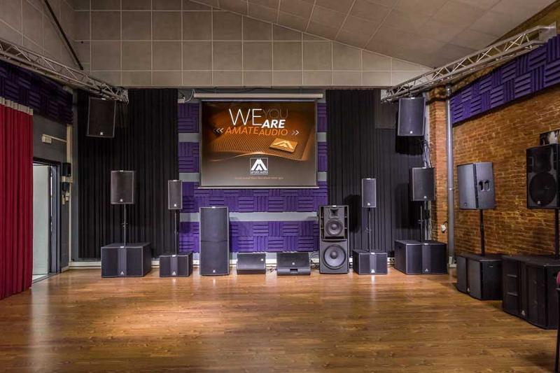 Amate Audio showroom
