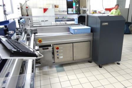 The Milktest Laboratory Automation, shortly MILA was developed by Lactotronic with the aim to automate the milk sample handling in routine central analysis laboratories.