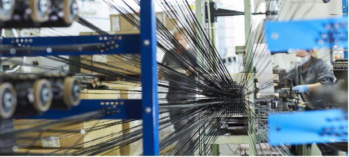 Carbon fiber pultrusion