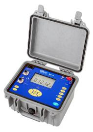 Designed for field use as well indoor as outdoor, OM 16 micro-ohmmeter performs 4-wire measurements of inductive and non-inductive resistances with continuous, pulse or AC measuring current up to 10 A