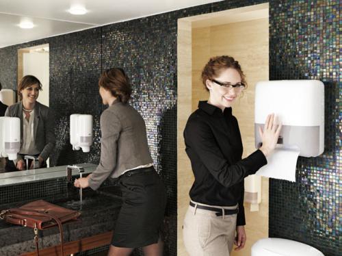 Waschraum/Hygienepapier
