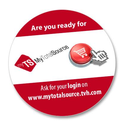 MyTotalSource, the new TVH webshop