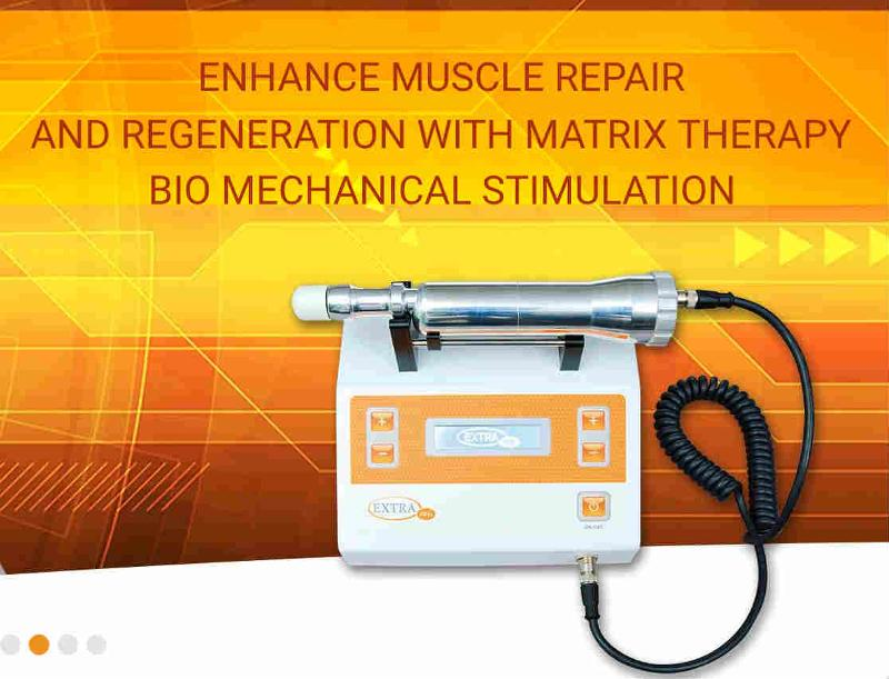 Bio Mechanical Stimulation – Battery Supported Handheld Device